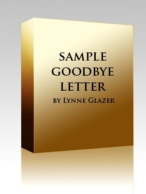 sample goodbye letter